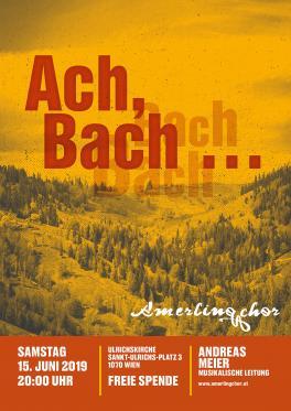 Ach, Bach... - 15. Juni 2019